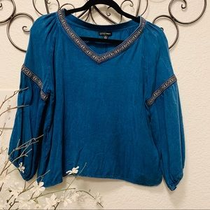 4:$25 Boho style top by style envy